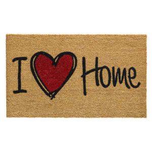 Kokosmat Ruco Print I love Home