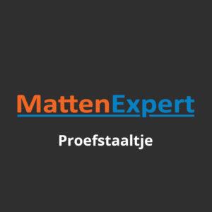 MattenExpert Gratis Proefstaaltje
